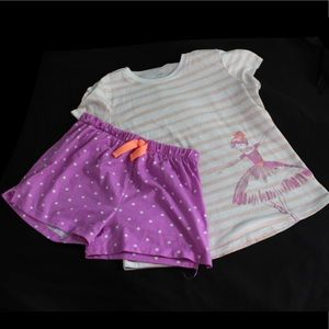 Carters Girls 14 Pajamas